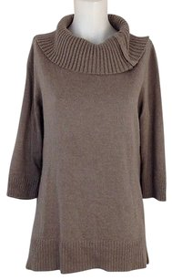 Chico's Womens 34 Sleeve Cowlneck 1 Fits Sweater