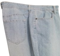 Chico's Relaxed Pants light blue jean