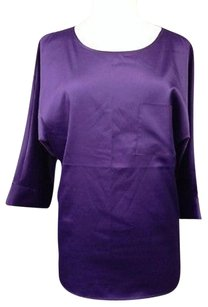 Chico's Chicos Polyester Blend Top Purple