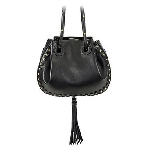 Chlo Chloe Inez Leather Shoulder Tote
