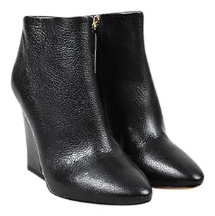 Chlo Chloe Leather Gold Black Boots