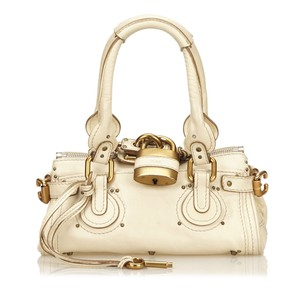 Chloé Beige Leather 14bdoj152 Shoulder Bag