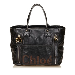 Chloé Black Leather Others Shoulder Bag