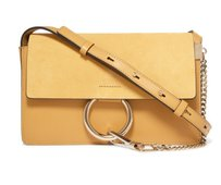 Chloé Chloe Small Faye Textured Leather Shoulder Bag