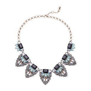 Chloe Inspired Gem Alloy Necklace