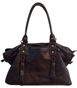 Chloé Leather Aurore Chloe Satchel in Brown