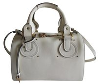 Chlo Satchel in Cream