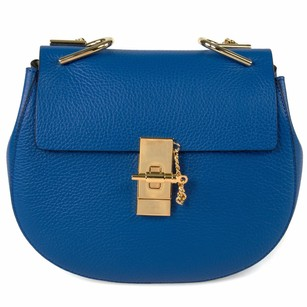 Chloé Chloe Drew W Gold Shoulder Bag