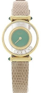 Chopard Chopard Happy Diamonds W Emeralds 18k Gold Ref. 204780-22
