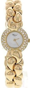 Chopard Ladies 18k Yellow Gold Diamond Chopard Casmir Bangle
