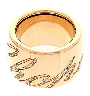 Chopard Ladies Chopard Chopardissimo 18k Rose Gold And Diamond Ring
