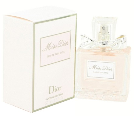Dior Miss Dior (Miss Dior Cherie) By Christian Dior Eau De Toilette Spray (New Packaging) 1.7 Oz