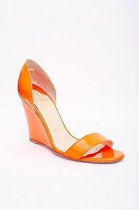 Christian Louboutin Neon Orange Platforms