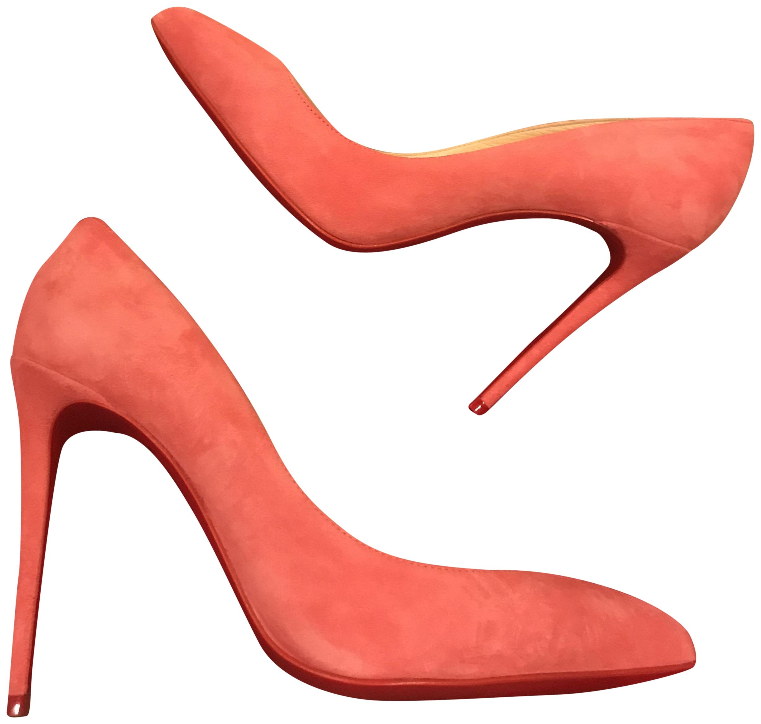 961c50d06792 Christian Louboutin Begonia (Pink) Pigalle Follies 100 Suede Pumps Size  Size Size EU 39.5 (Approx. US 9.5) Regular (M