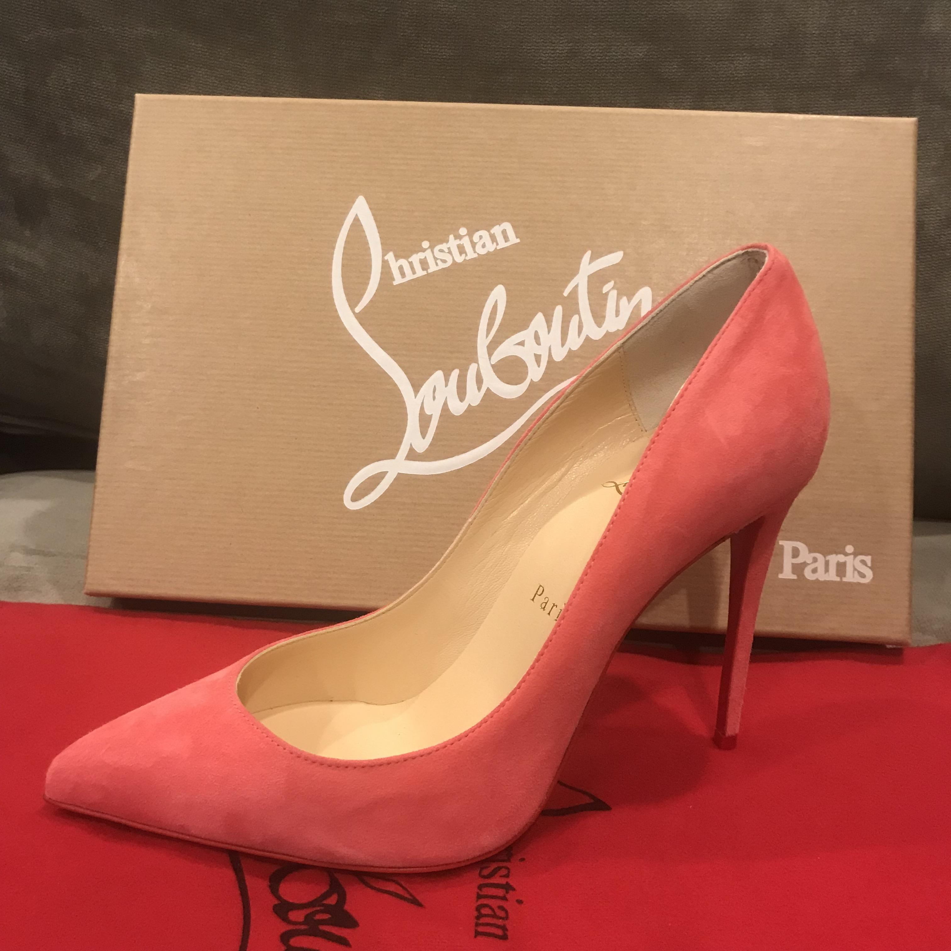 2f8479522705 ... Christian Louboutin Begonia (Pink) Pigalle Follies 100 Suede Pumps Size  Size Size EU 39.5 ...
