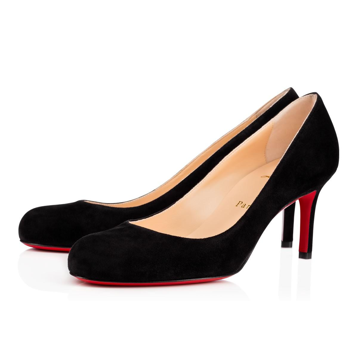 8ab24696f4e3 Christian Louboutin Black 38.5 Suede Simple 70mm Pumps Size Size Size US  8.5 Regular (M Skip to content