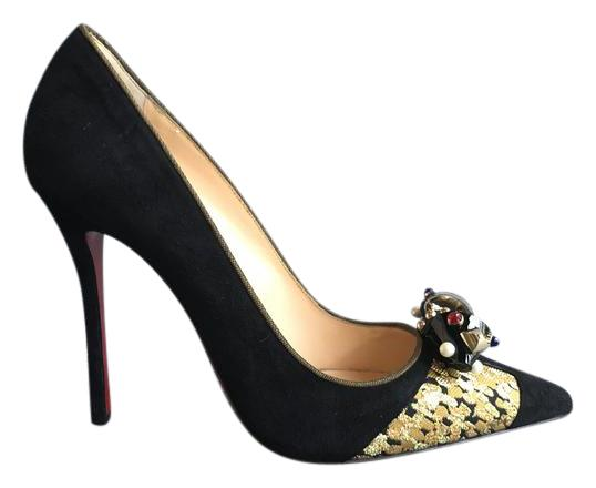 louboutin evening Multicolore