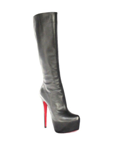 discount factory outlet Christian Louboutin Knee-High Leather Boots popular cheap price sale from china visit new cheap price RDcN17i