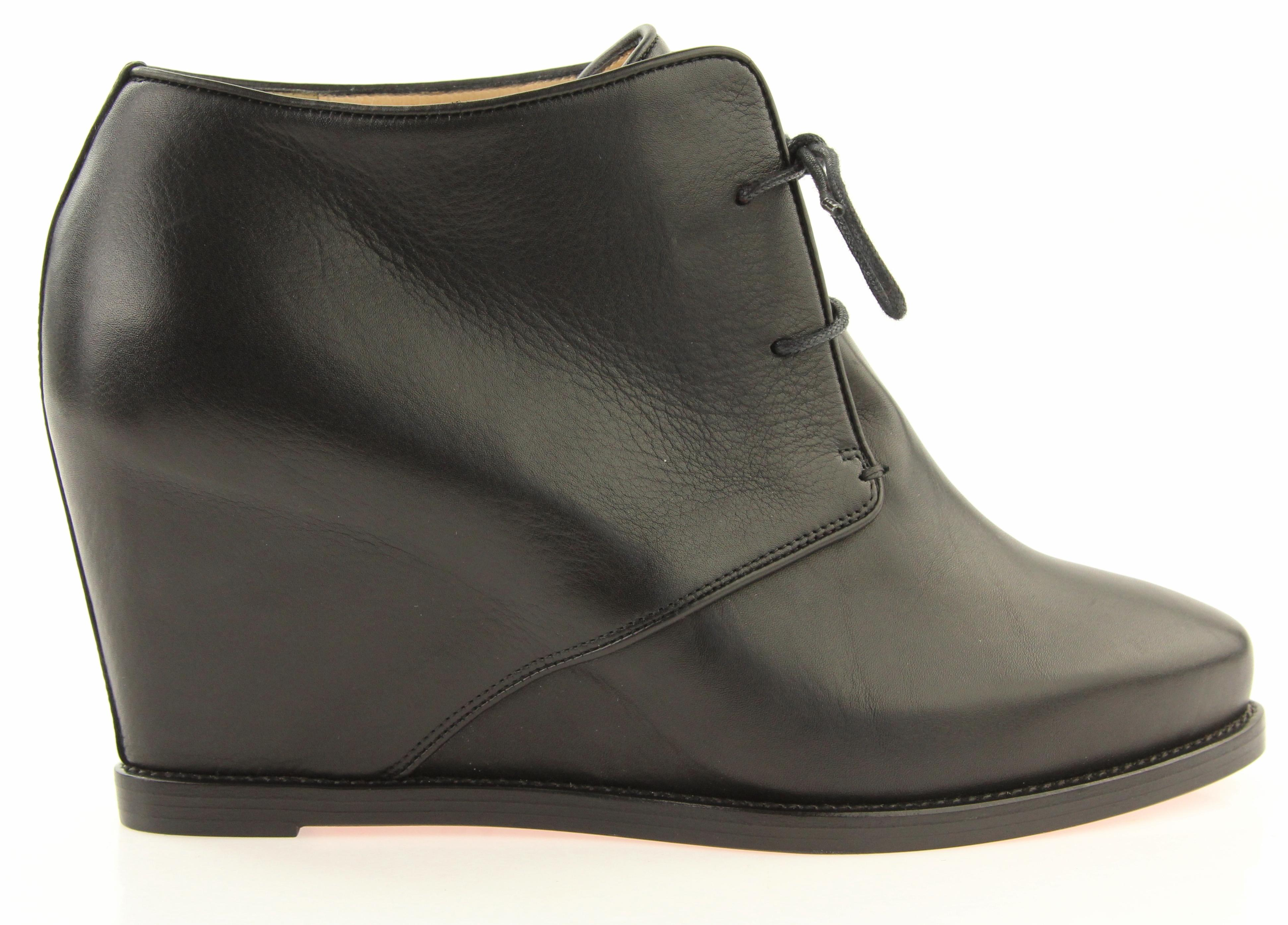 Christian Louboutin Black Lady Schuss Leather Boots/Booties Size EU 38.5 (Approx. US 8.5) Regular (M, B)
