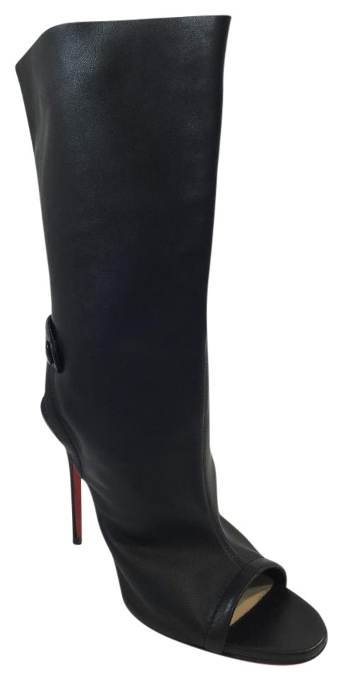 Christian Louboutin Black Mistinguetre 100 Boots/Booties Size US 8 Regular (M, B)