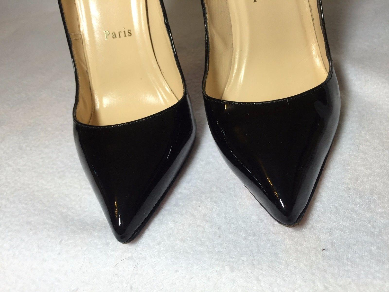 83922a3a07ba ... Christian Louboutin Black Pigalle Pigalle Pigalle 120 Patent Leather  Euro 38   Pumps Size US 8 ...