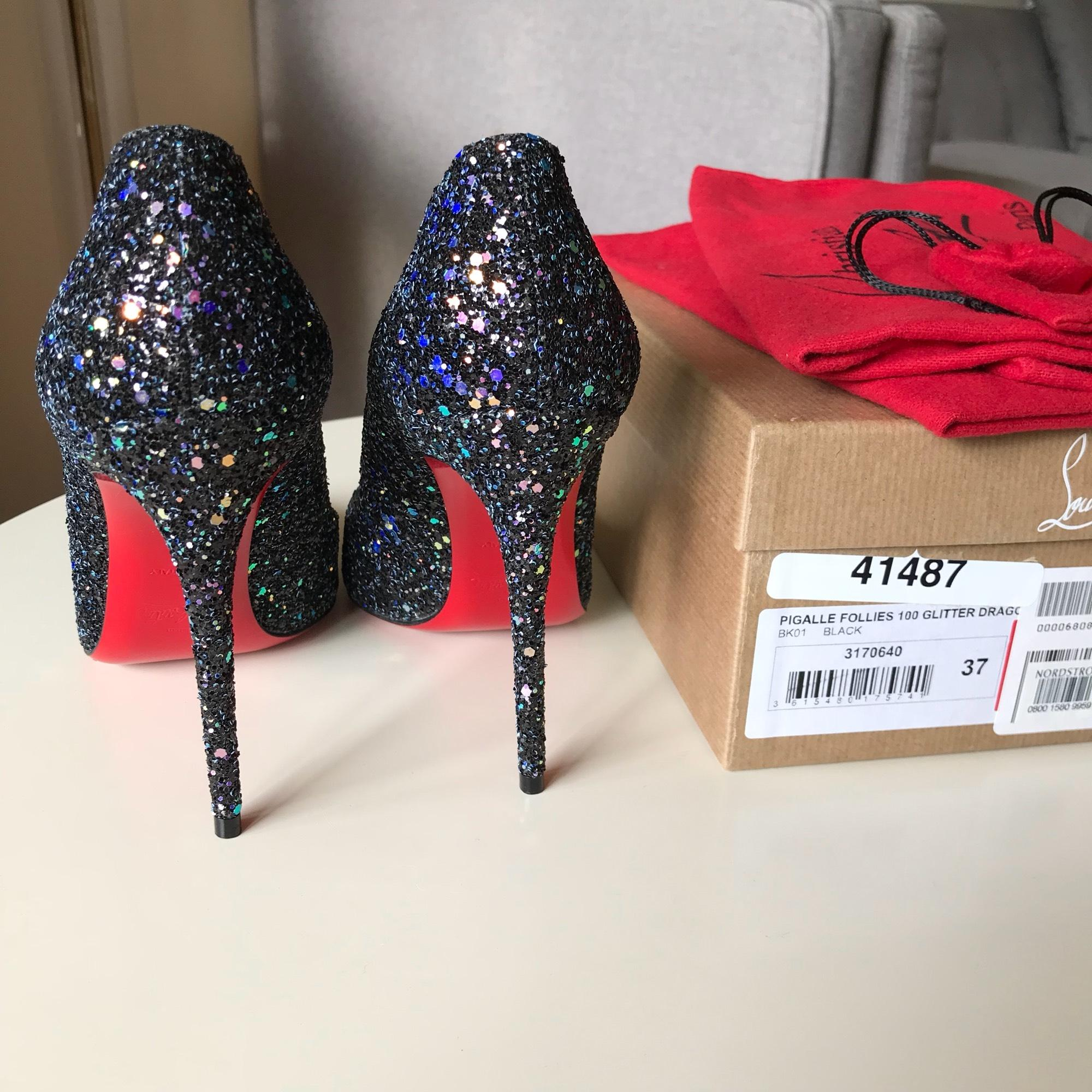 christian louboutin ue pigalle hawaii spike pompes taille ue louboutin 37,5 (environ 7,5) ordinaires (m, b) a9dbd4