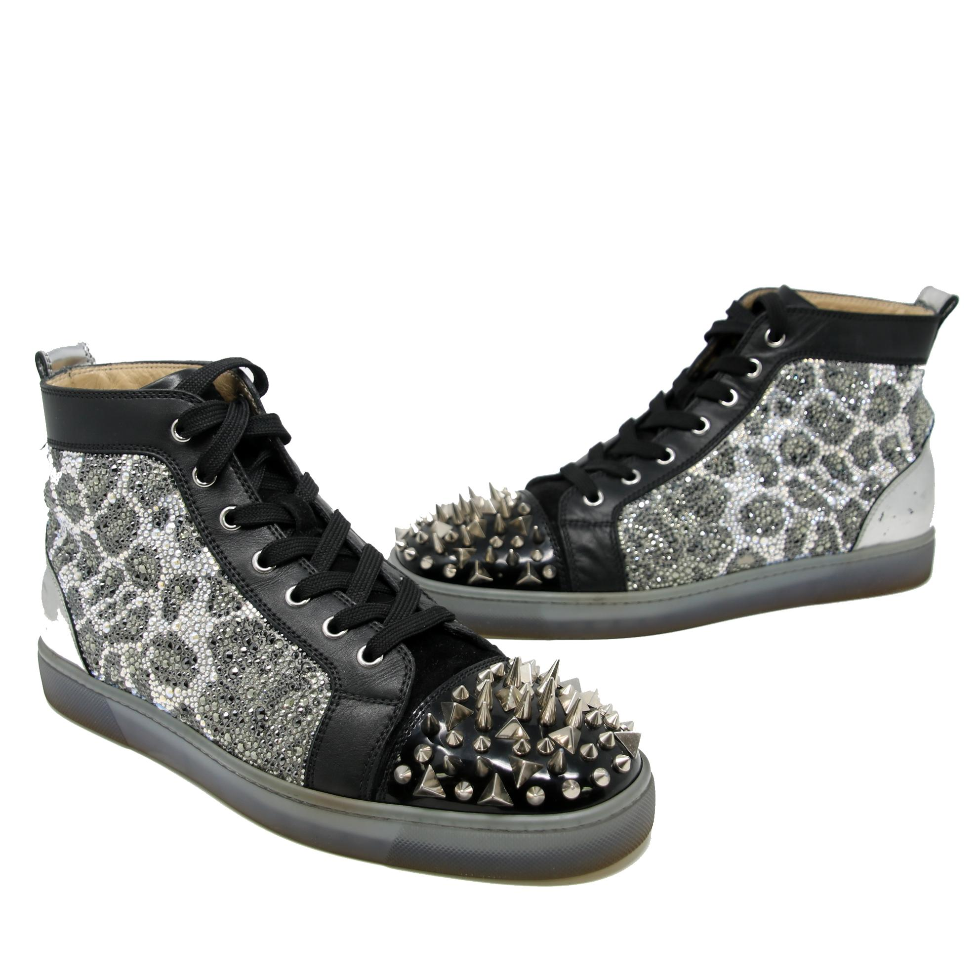 bebe1eb33f03 christian-louboutin-black -signature-strass-silver-spikes-no-limit-high-top-sneakers-425-sneakers-siz-22872128-0-0.jpg
