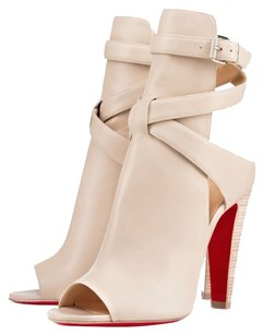 Christian Louboutin Nude Boots