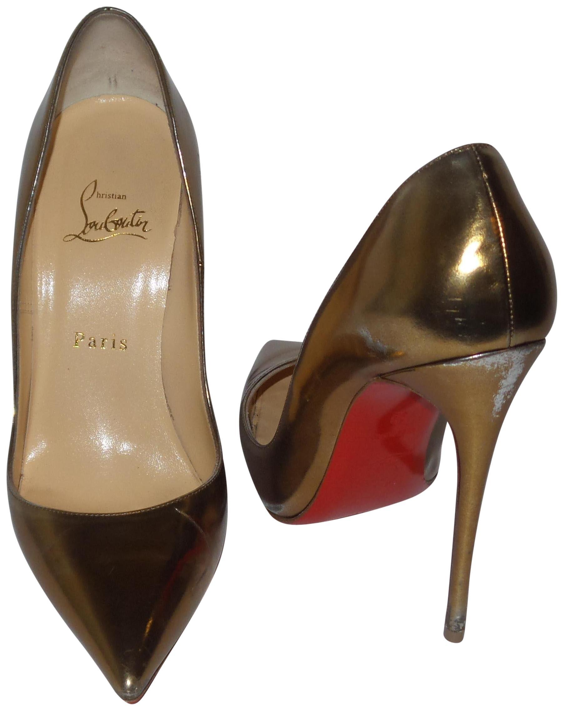a65550501360 clearance christian louboutin womens so kate patent leather pumps afflink  0da10 5d990  coupon for christian louboutin bronze pumps 50544 65e68