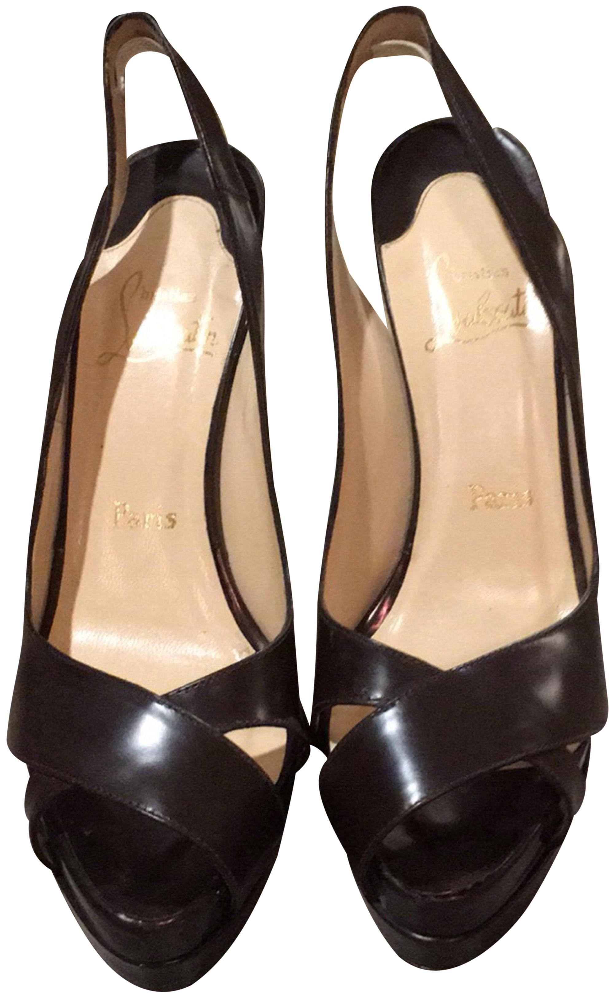 Christian Louboutin Brown Sandals Platforms Size EU 40.5 (Approx. US 10.5) Regular (M, B)