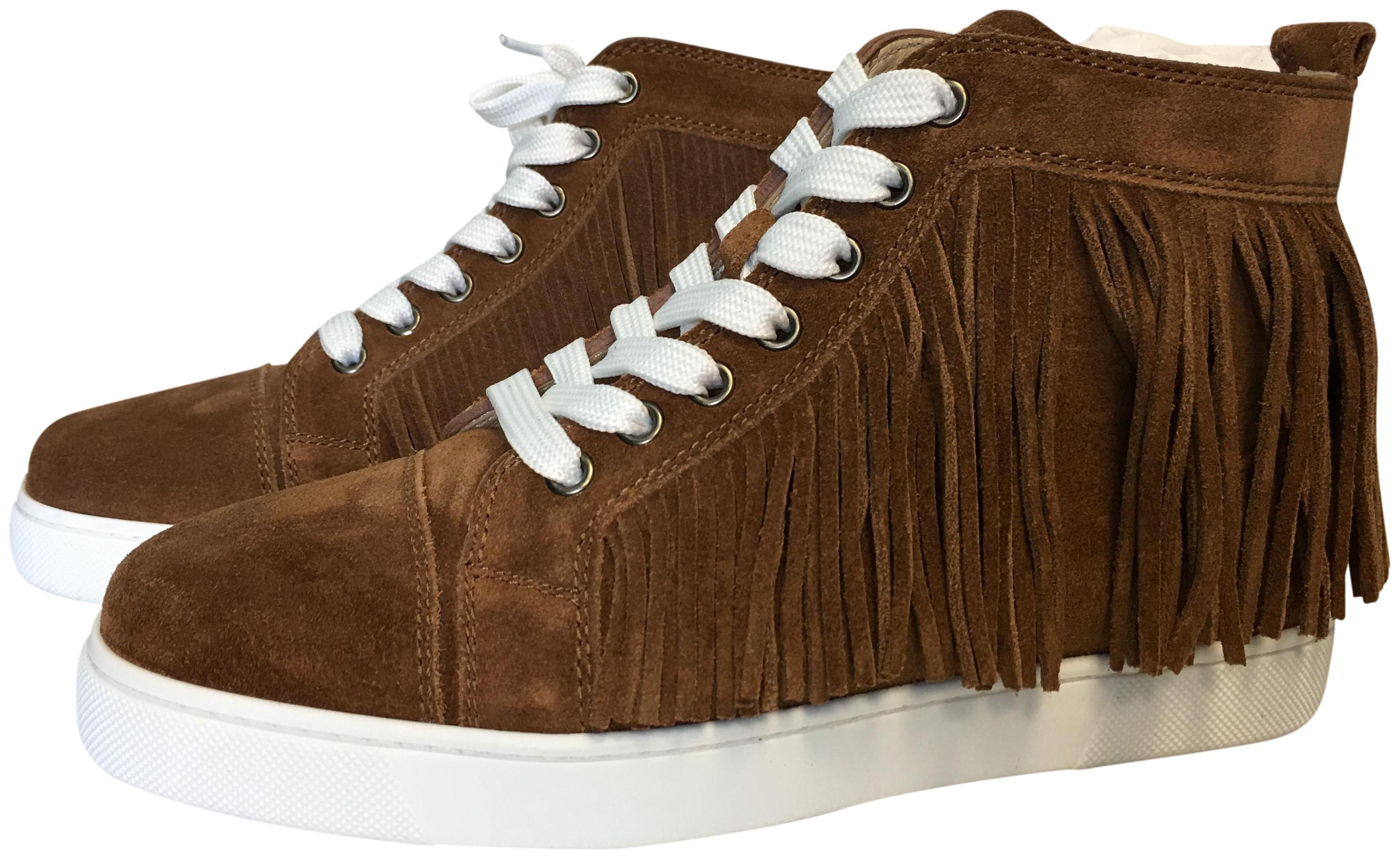 1721ba3f277 coupon code for christian louboutin sneakers brown 70d03 49029