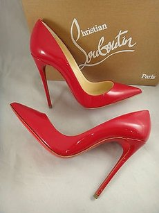 Christian Louboutin So Kate Red Pumps