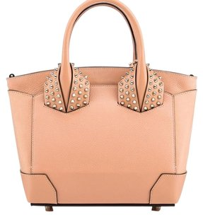 Christian Louboutin Satchel in nude