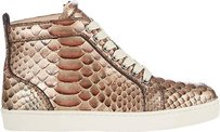 Christian Louboutin Glitter Tan Athletic