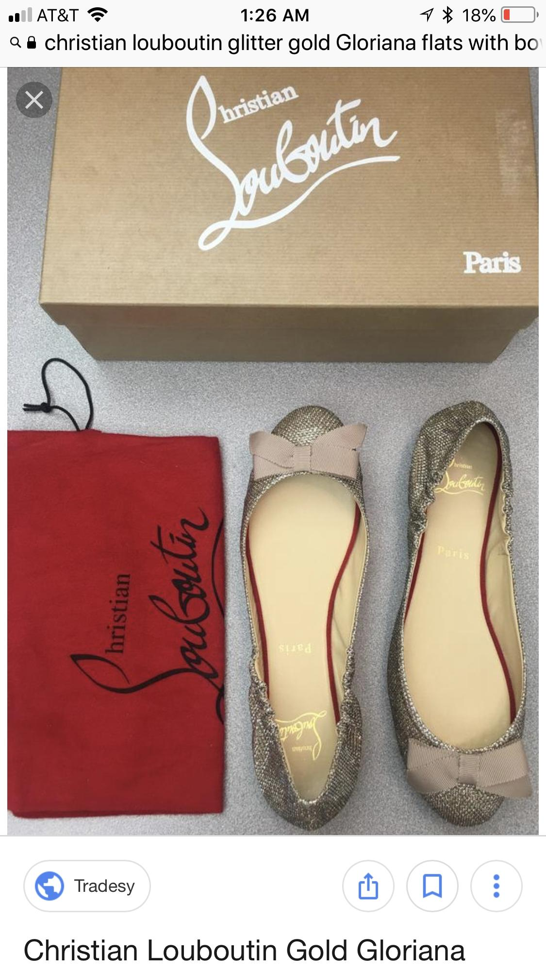 super popular 1a3d0 74532 ireland christian louboutin gloriana flat white 01767 53a3b