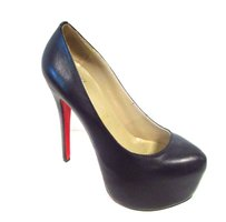 Christian Louboutin High Heels Stilettos Sexy Red Sole Black Pumps