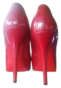 Christian Louboutin Leather Red Pumps