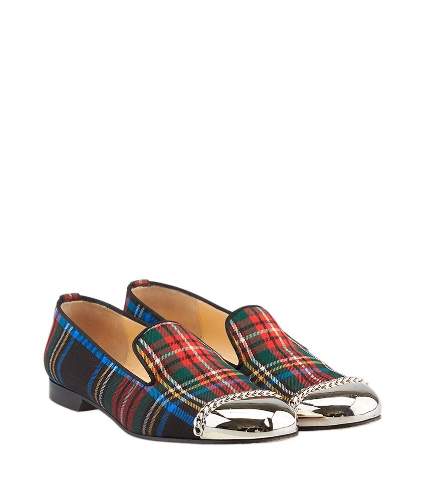 Christian Louboutin Plaid Rollergirl Loafers outlet recommend 2014 newest for sale clearance great deals cheap sale find great N6TaLBG