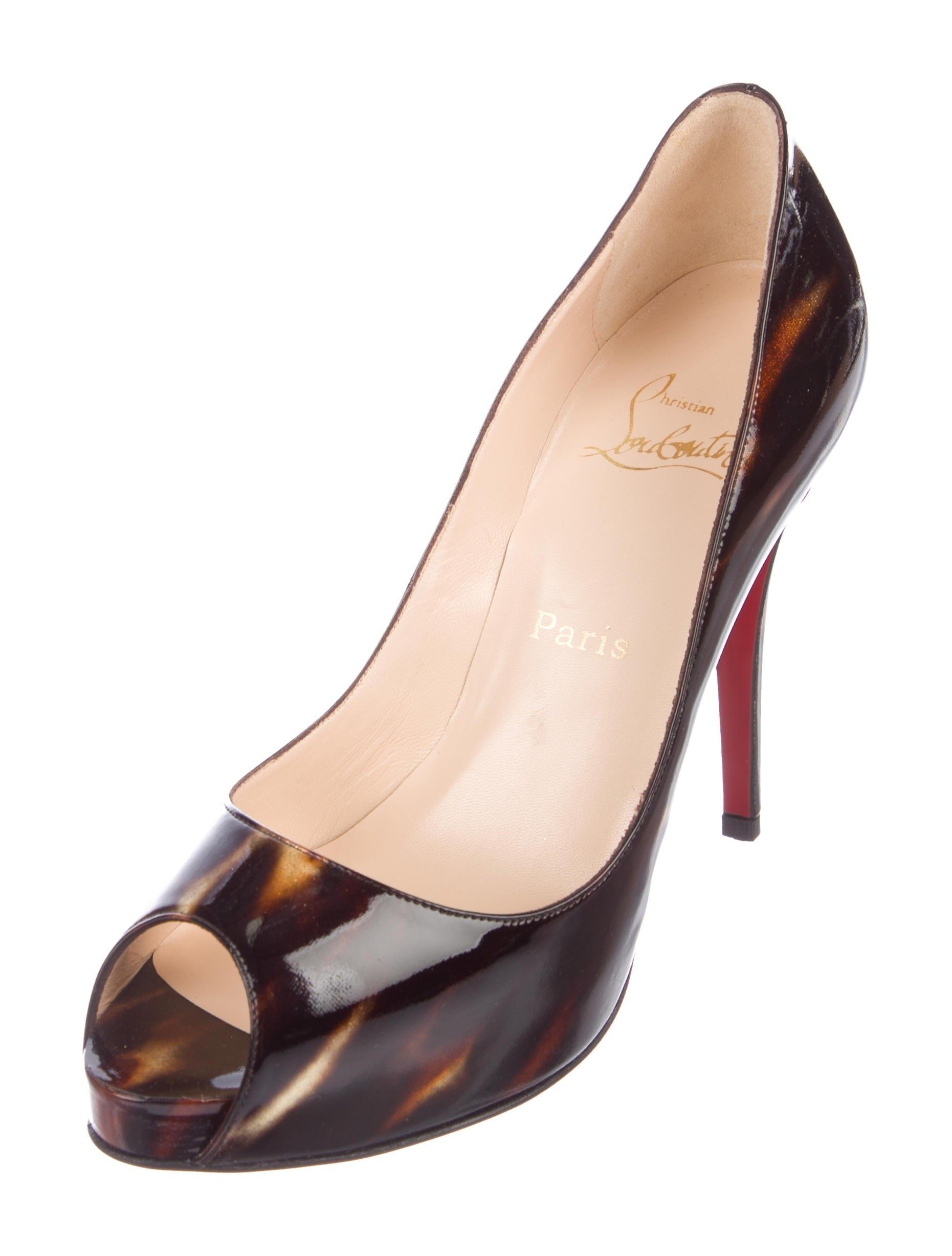 0e3ec24bee11 Christian Louboutin New Very Prive 120 Patent 9 Pumps Size Size Size EU 39  (Approx