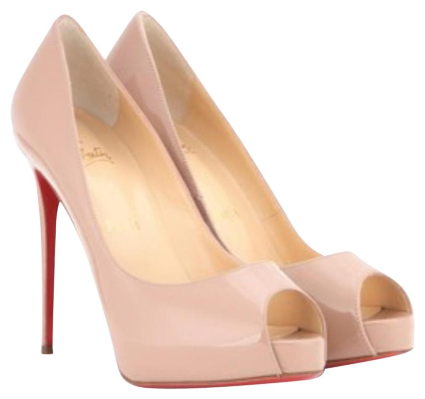 louboutin New Very Prive nudo