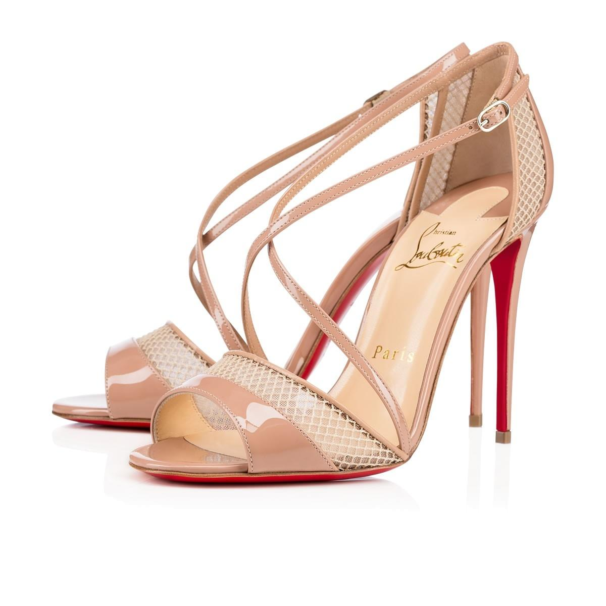 Christian Louboutin Nude Slikova Pumps Size US 7.5 Regular (M, B)