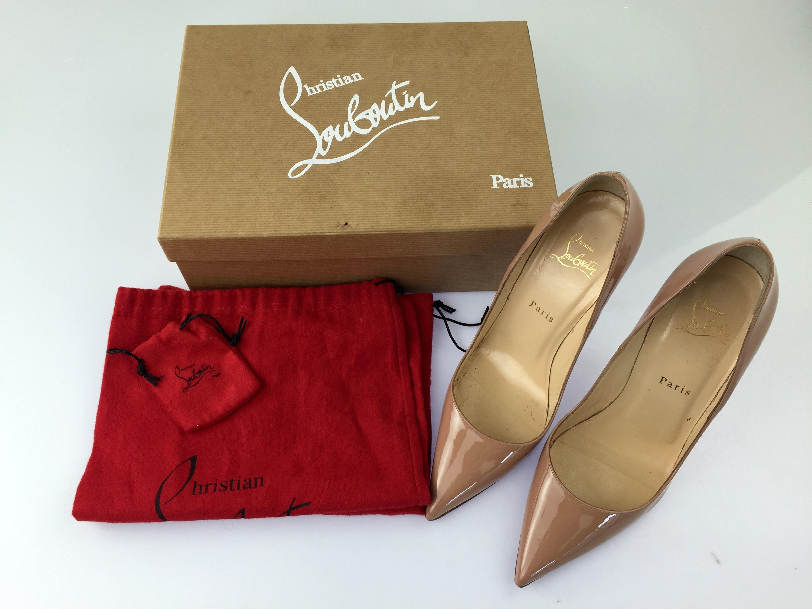 1ab1f7f31f ... Men/Women :Christian :Christian :Christian Louboutin Nude So Kate 120  Pumps Size