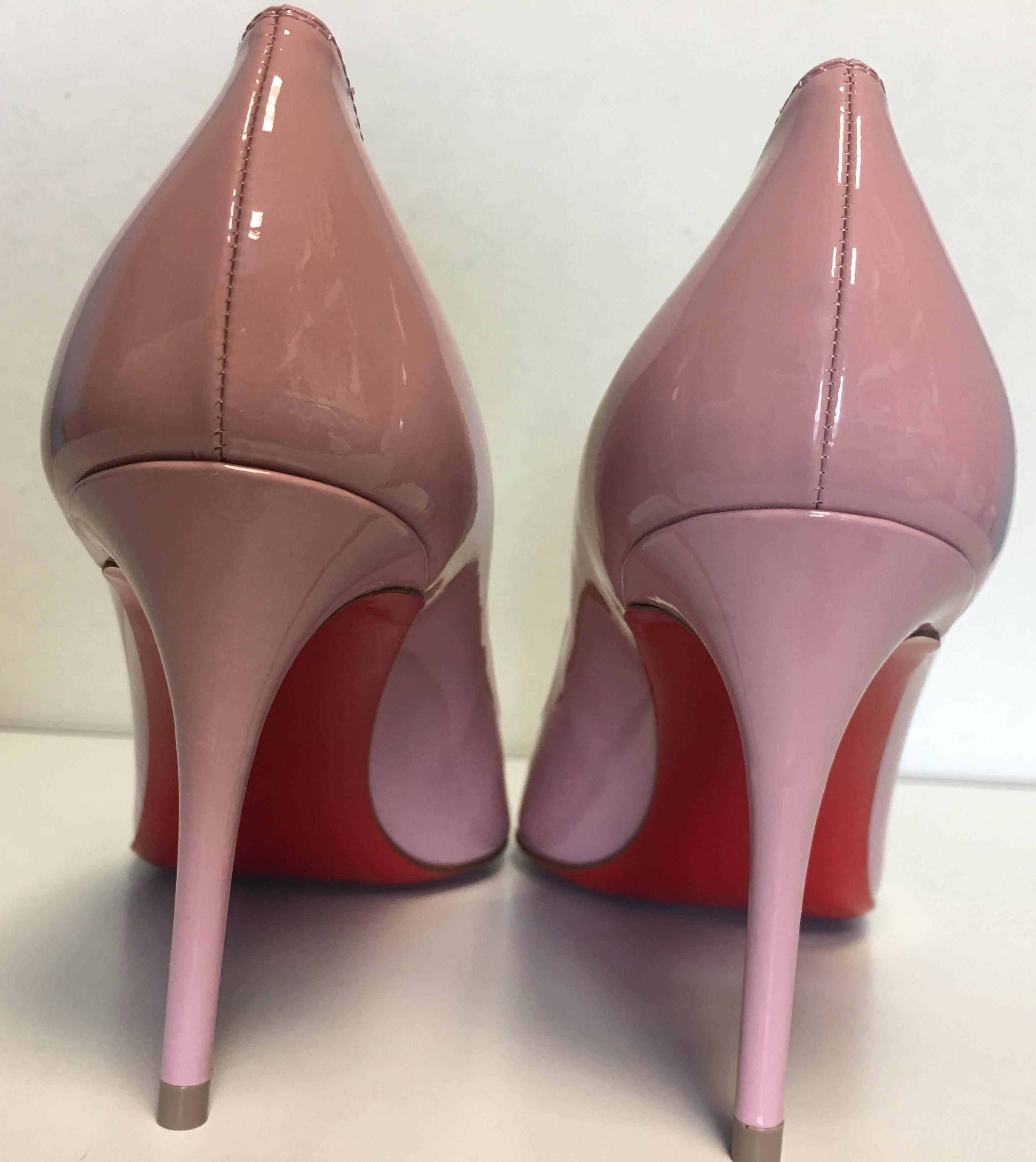premium selection f7a27 3871d Christian Louboutin Pink Classic Pigalle Pigalle Pigalle ...