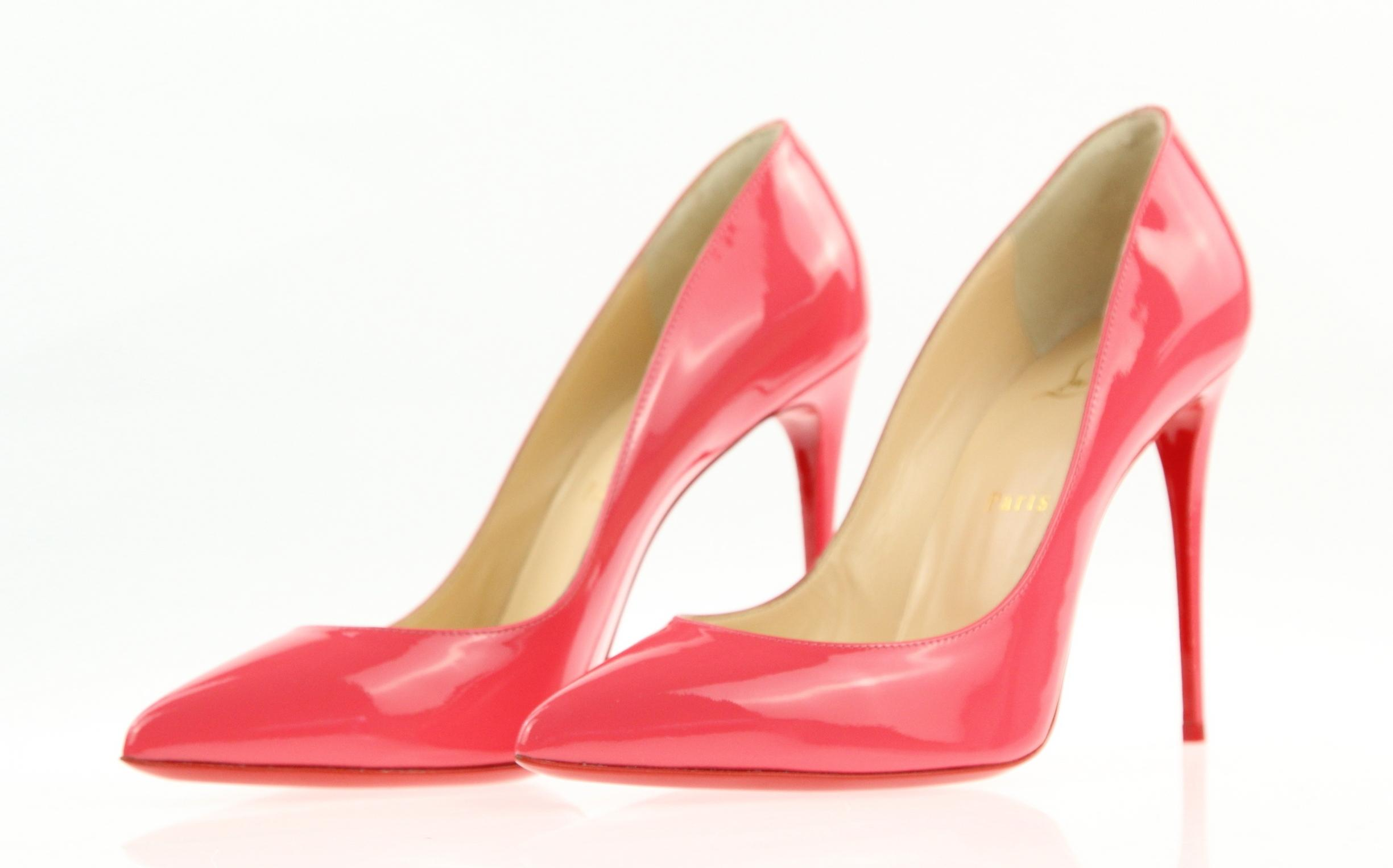 6137ee7ad86 Christian Louboutin Pink Pigalle Follies 100 Patent Pumps Pumps ...
