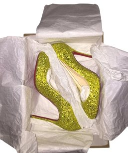 Christian Louboutin Fifi Strass Limitededtition Pumps