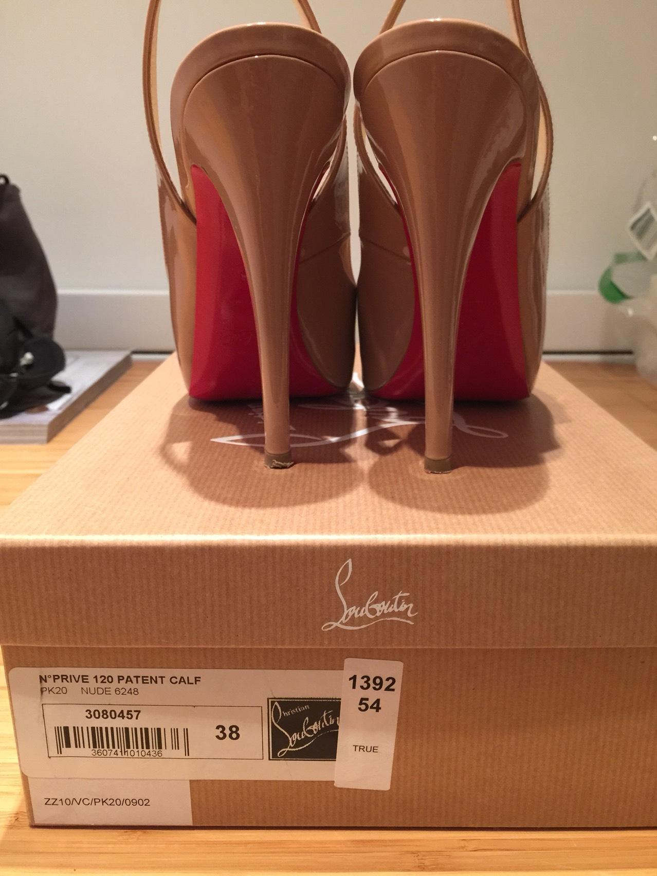 4248e538e116 ... Man s Woman s-Christian Louboutin Pumps Pumps Pumps Size US 8 Regular (M