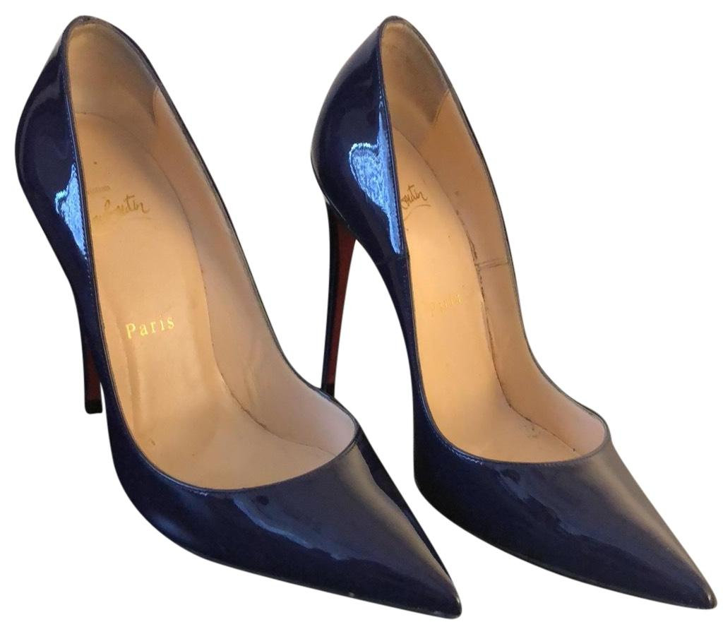 e8fe6ea90527 Tradesy Women s Off 90 At Christian Shoes To Purple Louboutin Up BBqOwzr