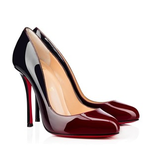 Christian Louboutin red / black Pumps