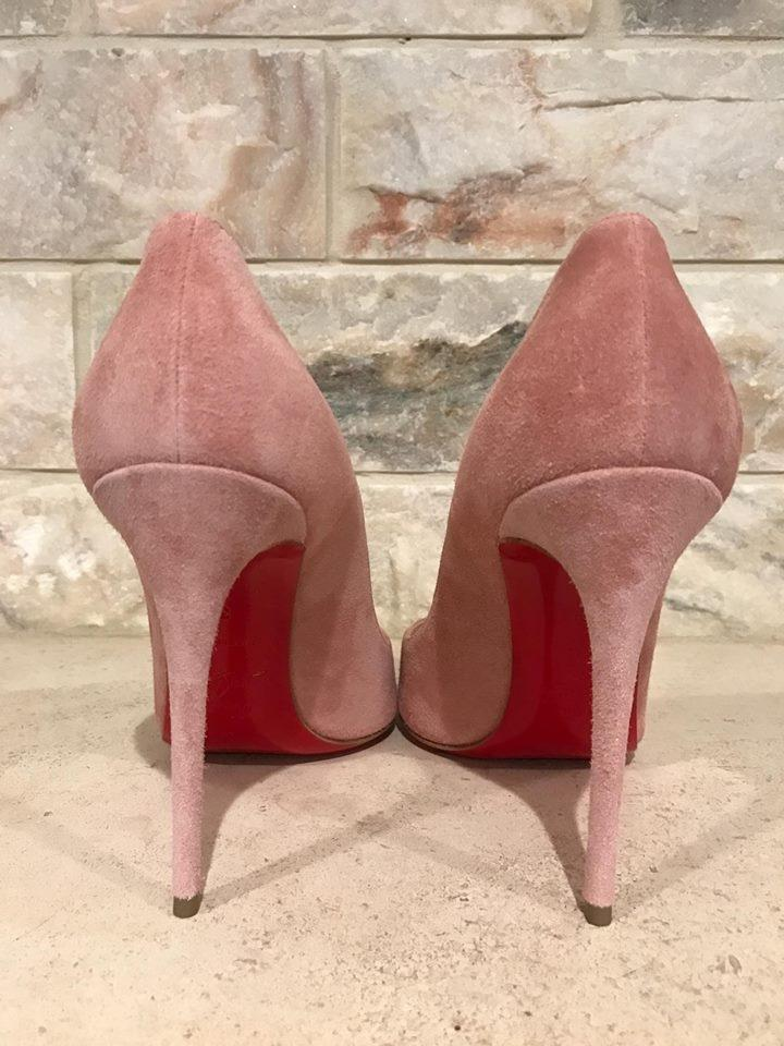 louboutin pigalle follies 100 rose