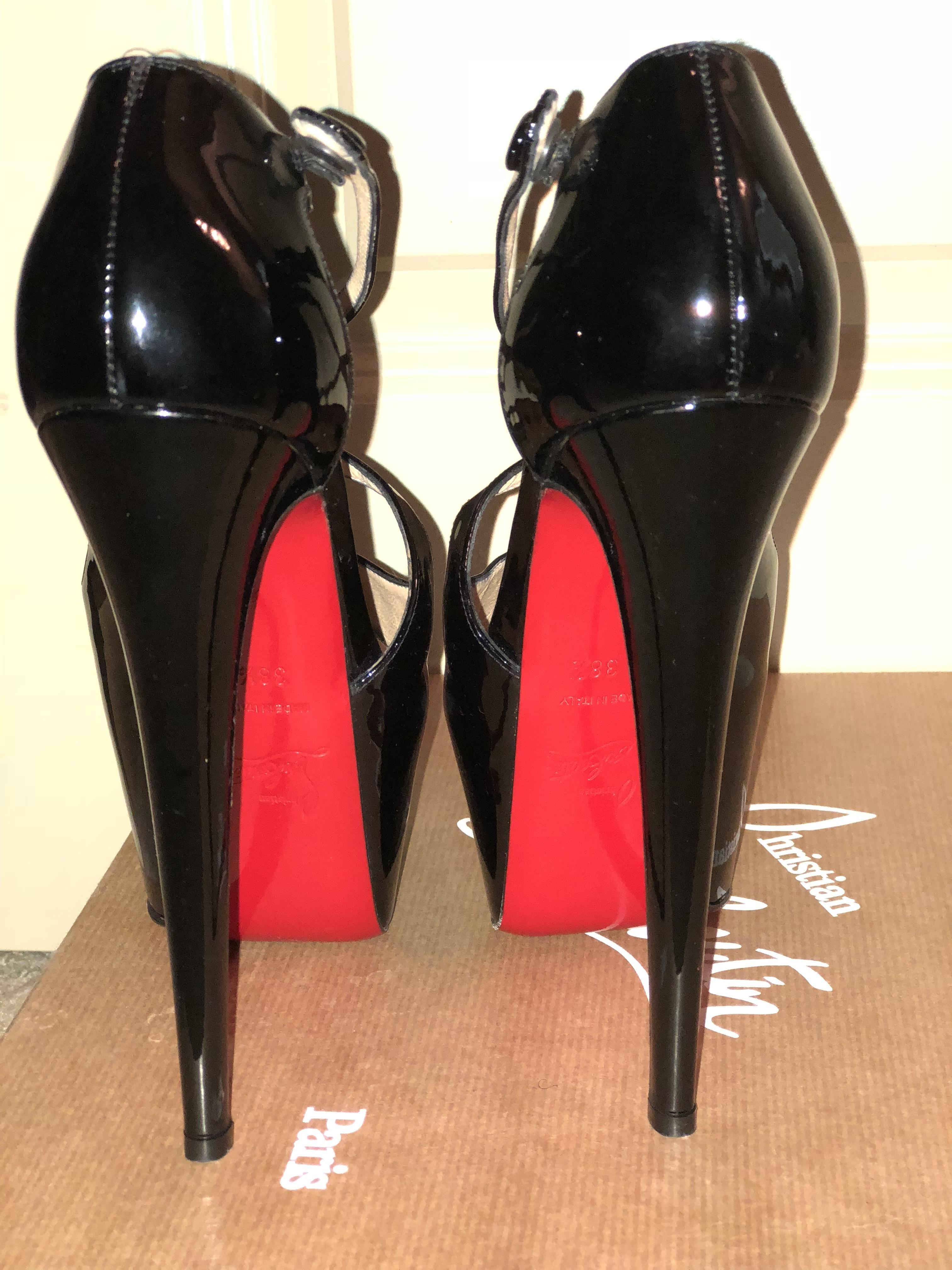 3ca9583eaa6 Christian Louboutin Sandals Size EU 38.5 (Approx. (Approx. (Approx ...